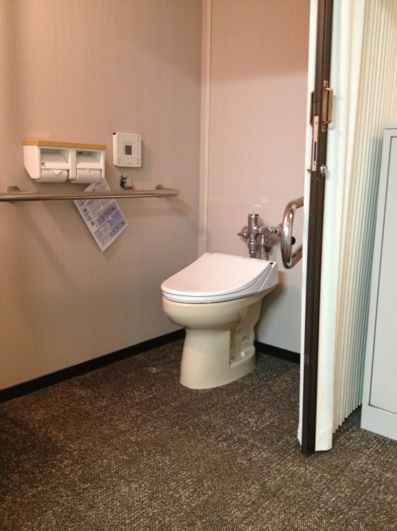 japan youth hostel toilet